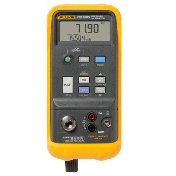 کالیبراتور دیجیتالی فشار فلوک مدل Fluke 719 100G